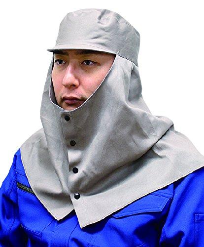溶接頭巾天丸グレー3号