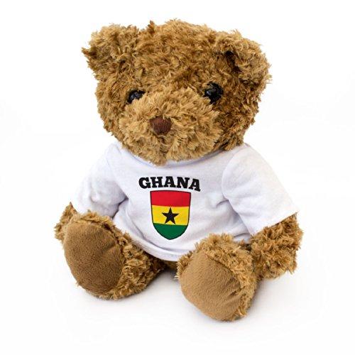 Teddybeer, Ghana-vlag, Ghana-fan, cadeau