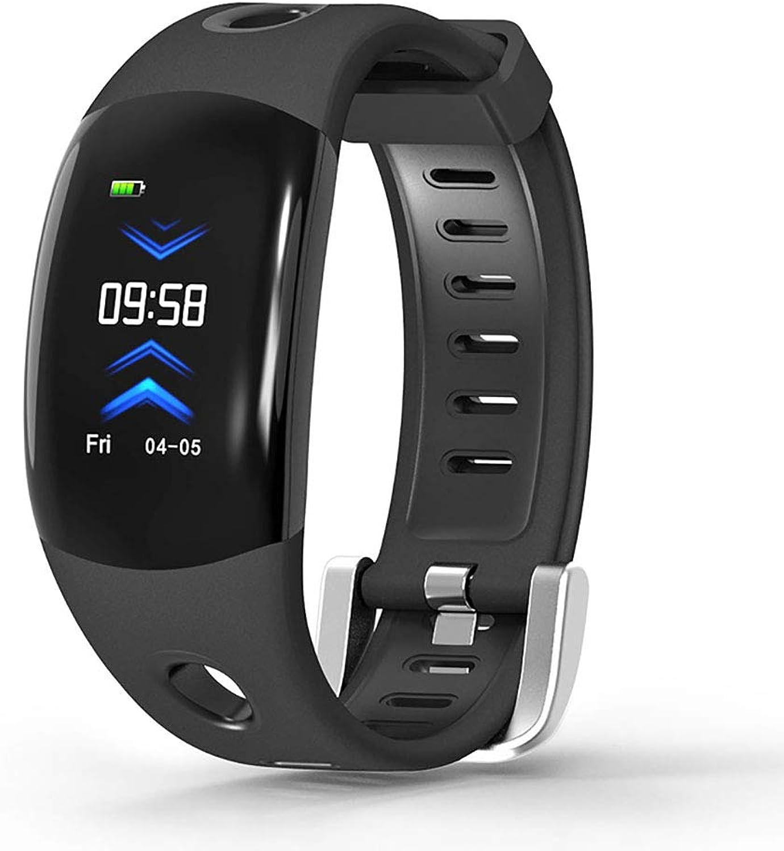 LYXLQ Fitness Tracker, 3D Animation Grobild Herzfrequenzmessung Blautooth Schrittzhler Gesundheitssport Smart Sports Bracelet Watch