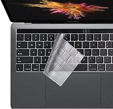 i-Buy Ultra Fino Clear TPU Teclado Cubierta para Macbook Pro 13/15 con Touch Bar y Touch ID[Teclado QWERTY español]- Claro