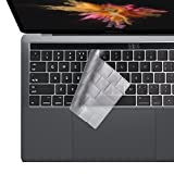 i-Buy Copertura Tastiera Ultrasottile Compatibile con MacBook PRO 13 / PRO 15 Pollici with Touch Bar(2016-2019 Model:A2159 A1706 A1989 A1707 A1990),EU Layout - TPU Clear