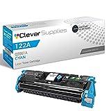 CS Compatible Toner Cartridge Replacement for HP 2550 Q3961A Cyan HP 122A Color Laserjet 2550 2550L 2550LN 2550N 2800 2820 2830 2840
