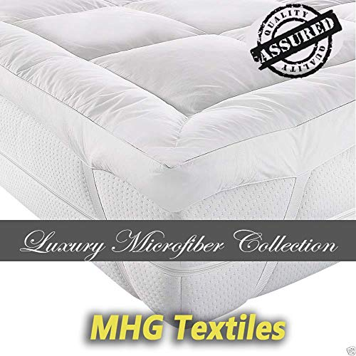 MHG Textiles New Soft Mattress Topper Full 900g Fill Toppers - Double