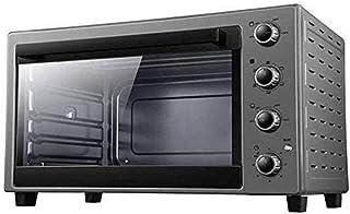Qinmo Horno eléctrico, horno de pizza Breadmakers, Horno eléctrico for hornear Inicio automático de múltiples funciones de gran capacidad de 60 litros de múltiples funciones Breakfast Sandwich Horno e