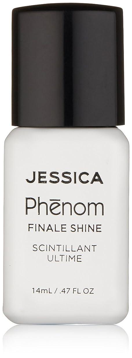 負前置詞和らげるJessica Phenom Nail Lacquer - Finale Shine Top Coat - 15ml / 0.5oz