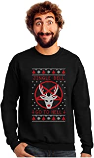 jingle bell go to hell sweater