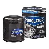 Purolator PBL14006 PurolatorBOSS Maximum Engine Protection Spin On Oil Filter, Black, single filter