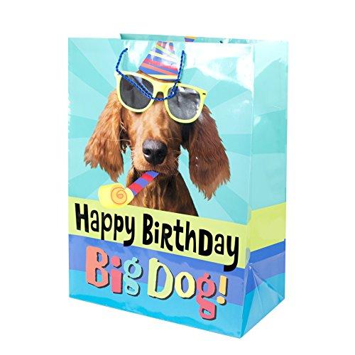 Hallmark Oversized Birthday Gift Bag (Party Dog)
