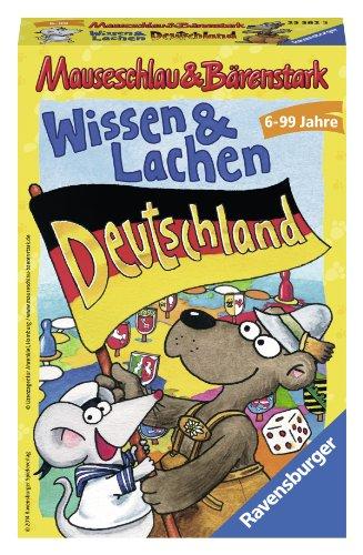 Ravensburger Mitbringspiele 23382 - Mauseschlau & Bärenstark Wissen und Lachen – Deutschland