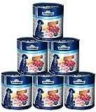 Dehner - Cibo per Cani Junior, Manzo, pollame e Patate, 6 x 800 g (4,8 kg)