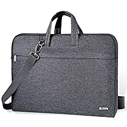 ♥High quality Material: The outside of this laptop bag is made of high quality waterproof Oxford,high well-pad soft fleece inside,comfortable touch, provide 360°protection for your laptop and various device. ♥Multifunctional lightweight Laptop Sleeve...