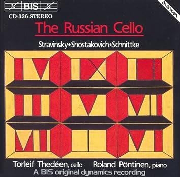 Shostakovich / Schnittke: Cello Sonatas / Stravinsky: Suite Italienne