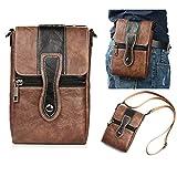Étui de ceinture en cuir de qualité supérieure pour homme avec clip pour iPhone 12 Pro Max, 11...
