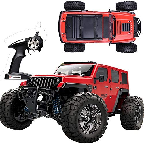 RC Car Remote Control Car 1 14 Scale High Speed Off Road Vehicle Crawler Truck 35km h 4WD 2 product image