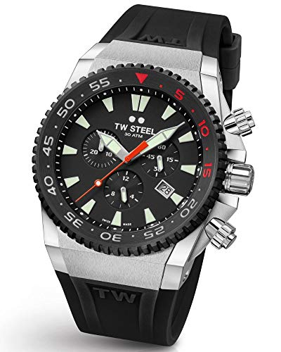 TW Steel ACE401 Diver Swiss Chronograaf Limited Edition horloge 44mm