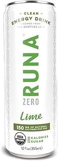 Zuna Guayusa Energy Drink - Lime, 12 oz