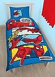 Juego de Funda de Edredón Reversible para Niños y Niñas de Spiderman...