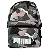 PUMA Pink/Grey Camo Laptop Backpack