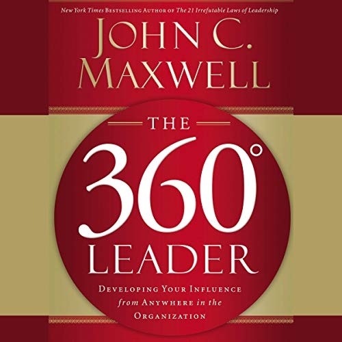 The 360 Degree Leader audiobook cover art