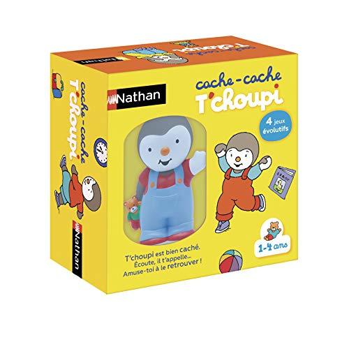 Nathan - Cache cache T'choupi - Un jeu éducatif et évolutif pour les enfants de 1 à 4 ans - Jeu électronique