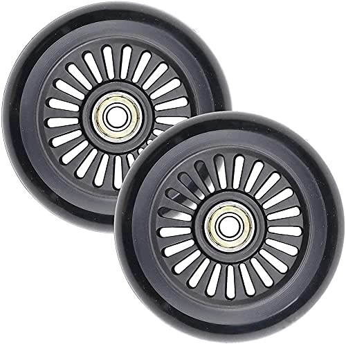 2Pcs 100Mm Scooter Wheels Neo - PRO Stunt Scooter Wheels nessun Rumore, Adatto Razor/Cox/Hikole/Schildkröt e Tutti i monopattini Freestyle con Ruote da 100mm