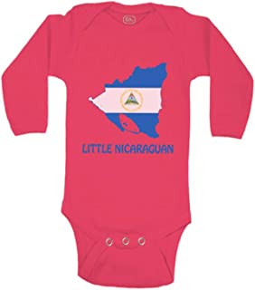 Cute Rascals Baby Long Sleeve Bodysuit Little Nicaraguan Countries Boy & Girl Clothes Cotton