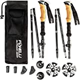 Best Poles For Hiking - Foxelli Folding Trekking Poles – Ultra Compact, Lightweight Review
