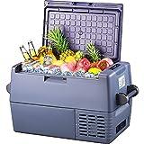 45l Auto Kühlbox -20°C~+10°C Kompressor Kühlschrank, große Kapazität, elektrische Kühlbox, 12/24V DC und 100-240V AC, für Outdoor, Fahrzeug, Camping, Reisen, Haus