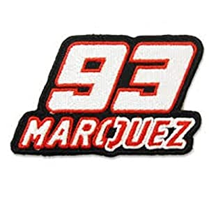 51mcyX8hRJL. SS300  - MAREL Patch Mark Marquez '93MotoGP Parche termoadhesivo Bordado cm 9x 5Replica
