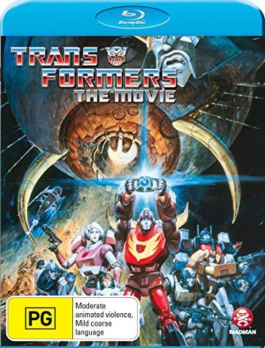 Seltene spezielle Abdeckung 1986 Transformers The Movie Cartoon neuesten Blu-ray Ausgabe Dolby Digital 5.1 Region Free