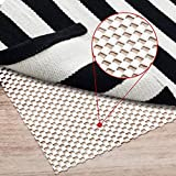 Non-Slip Rug Pad Gripper Extra Thick Pad for Any Hard Surface Floors, Pads Available in Many Sizes, Keep Your Rugs Safe and in Place (8 X 8)