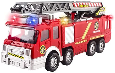 Top 10 Best fire truck toy rescue with shooting water