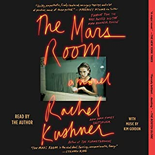 The Mars Room audiobook cover art