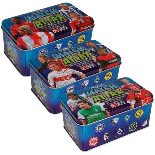 TOPPS Match Attax Collector Tins 2009/2010 3er Set
