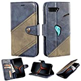 BELLA BEAR Case for Asus Rog Phone 2 Combination of Leather