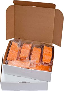 PrimeWaters Atlantic Salmon from Norway, 5 ounces, Frozen (28 portions)