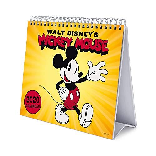 ERIK CS20009 Disney Mickey Deluxe Tischkalender quer 17x20cm Bürobedarf & Schreibwaren › Kalender, Planer & Organizer › Tischkalender & Zubehör