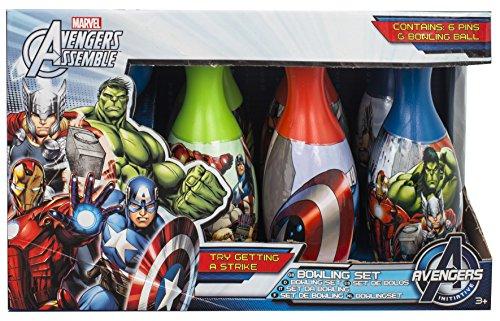 Avengers ave-3017Bowling-Set, Mehrfarbig