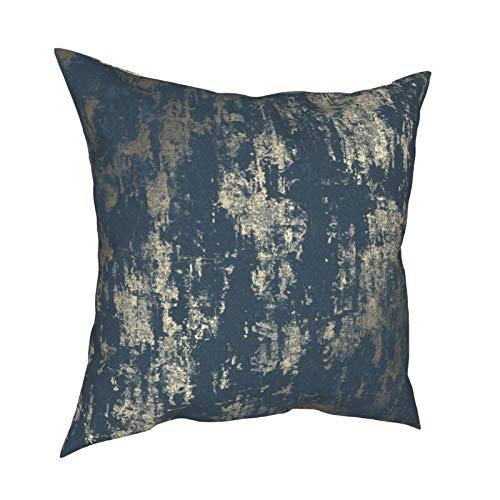 DearLord Milan - Fundas de cojín cuadradas de doble cara para sofá dormitorio con cremallera invisible 45,7 x 45,7 cm