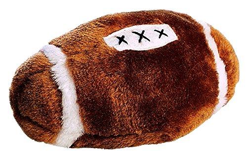Ethical Plush Football Dog Toy, 4-1/2-Inch