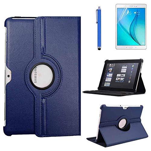 Schutzhülle für Samsung Galaxy Tab 2, 25,7 cm (10,1 Zoll), 360° drehbar Blau blau 10.1''