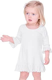 Kavio! Infants Girls Ruffled 3/4 Sleeve A-Line Dress