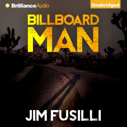 Billboard Man audiobook cover art