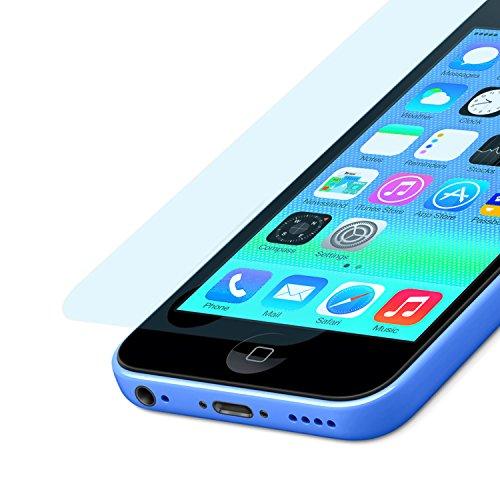doupi 3X Ultrathin Pellicola Protettiva per iPhone 5 5S 5C SE, Matt Opaca Anti Impronte digitali Anti riflesso Protettore Schermo Protezione (3 in Pack)