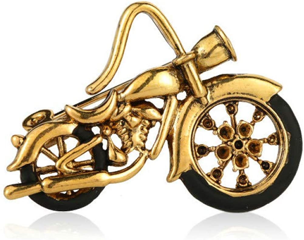 KYCPTNFJ Motorcycle Model Brooches excellence Corsage Men Women Co Ranking TOP15 Gold For