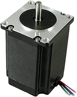 Lightobject EMOT-57MHS22 NEMA 23 57HS22 Stepper Motor, Dual Shaft, 4 Amp, 313 oz.