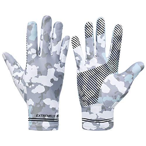 day wolf Laufhandschuhe Männer und Frauen Vollfinger Eisseidenhandschuhe Kajakhandschuhe, mit Touchscreen-Funktion und UV-Schutz für Sport Reiten Fahren Arbeiten Rudern