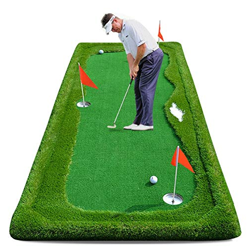 Buy Bargain ChenCheng Golf Practice pad Hitting pad Golf Putter Putter Outdoor Sport (Color : Portab...