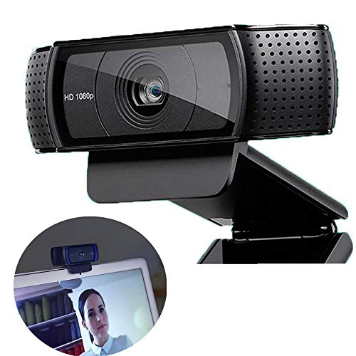 QINQIN HD webcam video chat opname USB webcast online educatieve camera Smart-1080p 60fps webcamera computer accessoires (zwart)