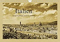 Italien (Wandkalender 2022 DIN A4 quer): Ein Kalender im Zeitungsstil (Monatskalender, 14 Seiten )